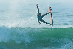 Gabriel Medina (BRA) placed 2nd in semis 2 at the Quiksilver and Roxy Pro France 2018