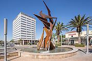 City Place Shopping Center at Main Street and Memory Lane Santa Ana
