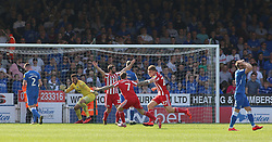 Max Power of Sunderland celebrates scoring his sides opening goal of the game - Mandatory by-line: Joe Dent/JMP - 22/04/2019 - FOOTBALL - ABAX Stadium - Peterborough, England - Peterborough United v Sunderland - Sky Bet League One