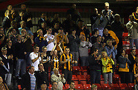 Photo: Rich Eaton.<br /> <br /> Crewe Alexandra v Hull City. Carling Cup. 15/08/2007. Hull fans go home happy after their team win 3-0 away.