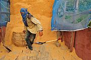 Grain Crop Farm Worker in Battambang Cambodia, For Rustic Pathways