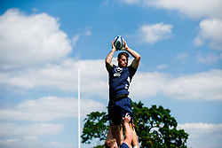 Jake Heenan in action during week 1 of Bristol Bears pre-season training ahead of the 19/20 Gallagher Premiership season - Rogan/JMP - 03/07/2019 - RUGBY UNION - Clifton Rugby Club - Bristol, England.