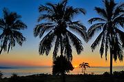 Sunset, Kohala, Big Island of Hawaii