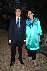 ANDY & PATTI WONG at the annual Cartier Chelsea Flower Show dinner held at the Chelsea Physic Garden on 21st May 2007.<br /><br />NON EXCLUSIVE - WORLD RIGHTS
