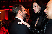 TOM FORD; L'WREN SCOTT, - IMG HERALD TRIBUNE HERITAGE LUXURY PARTY.- Celebration of Heritage Luxury and 10 years of the International Herald Tribune Luxury Conferences. North Audley St. London. 9 November 2010. -DO NOT ARCHIVE-© Copyright Photograph by Dafydd Jones. 248 Clapham Rd. London SW9 0PZ. Tel 0207 820 0771. www.dafjones.com.