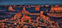 Setting Hen formation in Monument Valley