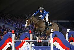 Leprevost Penelope, (FRA), Nice Stephanie <br /> Grand Prix Topsport Vlaanderen<br /> Vlaanderen Kerstjumping - Memorial Eric Wauters - <br /> Mechelen 2015<br /> © Hippo Foto - Dirk Caremans<br /> 29/12/15
