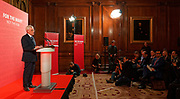 London, United Kingdom - 9 March 2018<br /> Labour Party Shadow Secretary of State for Women and Equalities Dawn Butler introducing Shadow Chancellor John McDonnell who was calling on the government to provide more funding to local councils, children services and domestic violence refuges in a speech at One Great George Street, London, England, UK, Europe.<br /> www.newspics.com/#!/contact<br /> (photo by: EQUINOXFEATURES.COM)<br /> Picture Data:<br /> Photographer: Equinox Features<br /> Copyright: ©2018 Equinox Licensing Ltd. +448700 780000<br /> Contact: Equinox Features<br /> Date Taken: 20180309<br /> Time Taken: 11205627