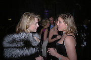 Lady ( Caroline ) Dalmany and Ilaria Bulgari. The Black and White Winter Ball. Old Billingsgate. London. 8 February 2006. -DO NOT ARCHIVE-© Copyright Photograph by Dafydd Jones 66 Stockwell Park Rd. London SW9 0DA Tel 020 7733 0108 www.dafjones.com
