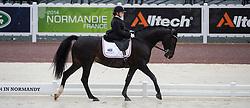 Stinna Tange Kaastrup, (DEN), Steffi Graf - Team Competition Grade Ib Para Dressage - Alltech FEI World Equestrian Games™ 2014 - Normandy, France.<br /> © Hippo Foto Team - Jon Stroud <br /> 25/06/14