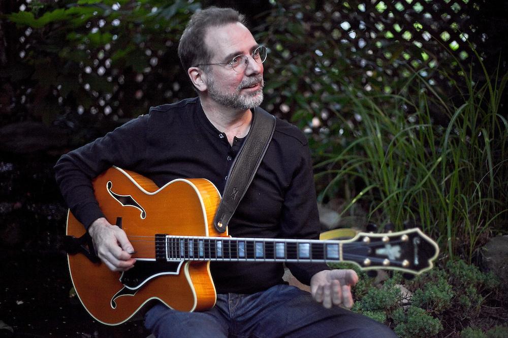Portrait of New York Jazz Guitarist Rick Stone