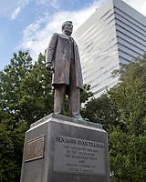 statue of Benjamin Tillman, Senator, Democrat Governor, Segregationist, Known as Pitchfork Ben, Columbia, South Carolina