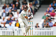 Rory Burns of Surrey batting during the Specsavers County Champ Div 1 match between Surrey County Cricket Club and Kent County Cricket Club at the Kia Oval, Kennington, United Kingdom on 7 July 2019.