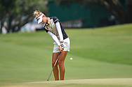 Nelly Korda (USA) chips on to 1 during round 2 of the 2019 US Women's Open, Charleston Country Club, Charleston, South Carolina,  USA. 5/31/2019.<br /> Picture: Golffile | Ken Murray<br /> <br /> All photo usage must carry mandatory copyright credit (© Golffile | Ken Murray)
