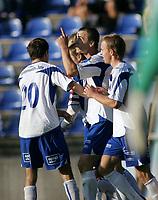 Fotball<br /> 07. September 2008<br /> Adecco ligaen<br /> Hødd  - haugesund 1 - 2<br /> <br /> Cameron weaver - haugesund<br /> Bjørn strøm - haugesund<br /> <br /> <br /> <br /> Foto: Richard Brevik , Digitalsport