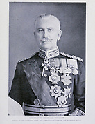 Sir Francis Reginald Wingate Sirdar Of The Egyptian Army And Governor-General Of The Egyptian Sudan [General Sir Francis Reginald Wingate, 1st Baronet, GCB, GCVO, GBE, KCMG, DSO, DL, TD (25 June 1861 – 29 January 1953) was a British general and administrator in Egypt and the Sudan. He earned the nom de guerre Wingate of the Sudan]. From the Book '  Britain across the seas : Africa : a history and description of the British Empire in Africa ' by Johnston, Harry Hamilton, Sir, 1858-1927 Published in 1910 in London by National Society's Depository