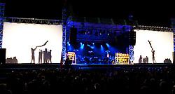 18.03.2010, Triglav, Planica, SLO, FIS SKI Flying World Championships 2010, Eroeffnung, im Bild Feature der Eröffnungsfeierlichkeiten, EXPA Pictures © 2010, PhotoCredit: EXPA/ J. Groder / SPORTIDA PHOTO AGENCY