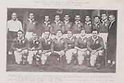 Irish Rugby Football Union, Ireland v Scotland, Five Nations, Landsdowne Road, Dublin, Ireland, Saturday 28th February, 1948,.28.2.1948, 2.28.1946,..Referee- Mr C H Gadney, Rugby Union,..Score- Ireland 6 - 0 Scotland,..Irish Team, ..J A D Higgins, Wearing number 15 Irish jersey, Full Back, Civil Service N.I Rugby Football Club, Belfast, Northern Ireland, ..B O'Hanlon, Wearing number 14 Irish jersey,  Right Wing, Dolphin Rugby Football Club, Cork, Ireland, ..W D McKee, Wearing number 13 Irish jersey, Right centre, N.I.F.C, Rugby Football Club, Belfast, Northern Ireland,..M O'Flanagan, Wearing number 12 Irish jersey, Left centre, Landsdowne Rugby Football Club, Dublin, Ireland,..B Mullan, Wearing number 11 Irish jersey, Left Wing, Clontarf Rugby Football Club, Dublin, Ireland,.. J W Kyle, Wearing number 10 Irish jersey, Stand Off, Queens University Rugby Football Club, Belfast, Northern Ireland,..H de Lacy, Wearing number 9 Irish jersey, Scrum, Garryowen Rugby Football Club, Limerick, Ireland, and, Harlequins Rugby Football Club, London, England,..A A McConnell, Wearing number 1 Irish jersey, Forward, Collegians Rugby Football Club, Belfast, Northern Ireland, ..C Mullen, Wearing number 2 Irish Jersey, Captain of the Itish team, Forward, Old Belvedere Rugby Football Club, Dublin, Ireland, ..J C Daly, Wearing Number 3 Irish Jersey, Forward, London Irish Rugby Football Club, Surrey, England, ..C Callan, Wearing number 4 Irish jersey, Forward, Landsdowne Rugby Football Club, Dublin, Ireland,..J Nelson, Wearing number 5 Irish jersey, Forward, Malone Rugby Football Club, Belfast, Northern Ireland, . .J McCarthy, Wearing number 6 Irish jersey, Forward, Dolphin Rugby Football Club, Cork, Ireland, ..D O'Brien, Wearing number 7 Irish jersey, Forward, London Irish Rugby Football Club, Surrey, England, . .J W McKay, Wearing number 8 Irish jersey, Forward,  Queens University Rugby Football Club, Belfast, Northern Ireland,..Scottish Team,..W C W Murdoch, Wearing number 1 Scottish j