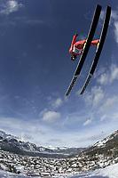 Hopp<br /> Hoppuka 2005/2006<br /> Foto: imago/Digitalsport<br /> NORWAY ONLY<br /> <br /> 31.12.2005  <br /> <br /> Tommy Ingebrigtsen (Norwegen) fliegt ins Tal von Garmisch Partenkirchen