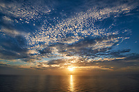 Sunset Over the Caribbean Ocean. Image taken with a Nikon D3x and 14-24 mm f/2.8 lens (ISO 100, 14 mm, f/11, 1/100 sec)
