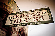 The Bird Cage Theater, Tombstone, Arizona USA