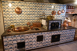Kitchen inside The Celle Palace or Celle Castle in Celle, Lowery Saxony, Germany