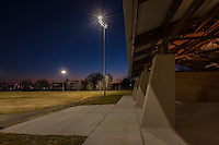 Exterior photo of Carroll Park Field House in Baltimore Maryland by Jeffrey Sauers of Commercial Photographics