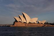 The Sydney Opera House.  Photograph by Dennis Brack