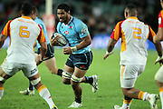 Sitaleki Timani. Waratahs v Chiefs. 2013 Investec Super Rugby Season. Allianz Stadium, Sydney. Friday 19 April 2013. Photo: Clay Cross / photosport.co.nz
