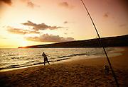 Hulupoe Bay, Manele, Lanai Hawaii.