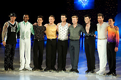 Dancing on Ice Photocall Sheffield Motorpoint Arena .Vanilla Ice, Johnson Beharry, Colin Ratushniak, Daniel Whiston, Michael Zenezini, Christopher Dean, Sam Attwater, Matt Evers and Comedy Dave Vitty .7 April 2011.Images © Paul David Drabble