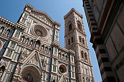 Exterior of the Cathedral of Santa Maria del Fiore, Florence, Italy