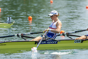 2005, World Rowing Championships, Nagaragawa International Regatta Course, Gifu, JAPAN: Monday  29.08.2005. GBR W2X Debbie Flood  © Peter Spurrier/Intersport Images - email images@intersport-images.com