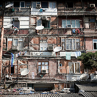 Baku, Azerbaijan, 24 July 2012<br /> Nagorno-Karabakh war IDP (internal displaced people) settlement in Baku.<br /> Photo: Ezequiel Scagnetti