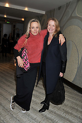 Left to right, BAY GARNETT and SUE WHITELEY at the Designer Fashion Fund Award hosted by The British Fashion Council and Vogue at Nobu Berkeley, 15 Berkeley Street, London on 29th January 2013.