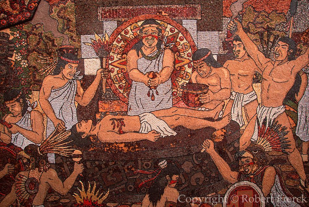 MEXICO, COLONIAL CITIES Tepoztlan: Aztec human sacrifice