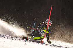Hanna Aronsson Elfman (SWE) during the Ladies' Slalom at 56th Golden Fox event at Audi FIS Ski World Cup 2019/20, on February 16, 2020 in Podkoren, Kranjska Gora, Slovenia. Photo by Matic Ritonja / Sportida