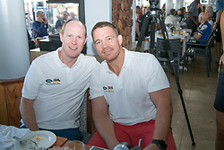 John Smit and partner Shane Corley at the Amabubesi breakfastduring the pre race events held at the V&A Waterfront in Cape Town prior to the start of the 2017 Absa Cape Epic Mountain Bike stage race held in the Western Cape, South Africa between the 19th March and the 26th March 2017<br /> <br /> Photo by Mark Sampson/Cape Epic/SPORTZPICS<br /> <br /> PLEASE ENSURE THE APPROPRIATE CREDIT IS GIVEN TO THE PHOTOGRAPHER AND SPORTZPICS ALONG WITH THE ABSA CAPE EPIC<br /> <br /> ace2016