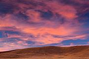 Sunset on Grasslands (West Block) <br /> Grasslands National Park<br /> Saskatchewan<br /> Canada