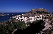 Lindos, Rhodos, Dodecanese, Greece
