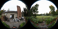 Backyard Sumertime Nature in New Jersey. Image taken with a Theta Z1 360 camera