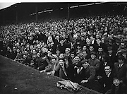All Ireland Senior Football Final Replay. Meath v Cavan..The crowd..Winners - Cavan 0.9 - 0.5..12.10.1952  12th October 1952S. Morris, J. McCabe, P. Brady, D. Maguire, P. Carolan, L. Maguire, B. O'Reilly, V. Sherlock, T. Hardy, S. Hetherton, M. Higgins (Captain), E. Carolan, J. J. Cassidy, A. Tighe, J. Cusack. Note: P. Fitzsimons played in drawn game. J. Cusack came on for replay. P. Fitzsimmons was introduced as Sub for J. J. Cassidy in replay.