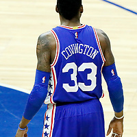 11 March 2017: Philadelphia 76ers forward Robert Covington (33) is seen during the LA Clippers 112-100 victory over the Philadelphia Sixers, at the Staples Center, Los Angeles, California, USA.