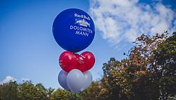 08.09.2018, Lienz, AUT, 31. Red Bull Dolomitenmann 2018, im Bild Feature Luftballons // during the 31th Red Bull Dolomitenmann. Lienz, Austria on 2018/09/08, EXPA Pictures © 2018, PhotoCredit: EXPA/ JFK