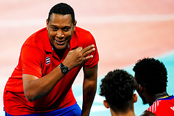 Vives Coffigny Nicolas Ernesto, head coach of Cuba during volleyball match between Cuba and Slovenia in Final of FIVB Volleyball Challenger Cup Men, on July 7, 2019 in Arena Stozice, Ljubljana, Slovenia. Photo by Matic Klansek Velej / Sportida