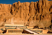 EGYPT, THEBES, WEST BANK Thebes Necropolis; Temple of Hatshepsut