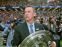 Ottmar HITZFELD   Fu§balltrainer Bayern München<br />        Fu§ball Deutscher Fu§ballmeister 2001  Bayern MŸnchen