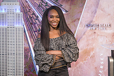 Venus Williams visits the Empire State Building in support of Small Business Saturday - 21 Nov 2018
