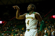 WACO, TX - DECEMBER 18: Gary Franklin #4 of the Baylor Bears shoots a three-pointer against the Northwestern State Demons on December 18 at the Ferrell Center in Waco, Texas.  (Photo by Cooper Neill/Getty Images) *** Local Caption *** Gary Franklin
