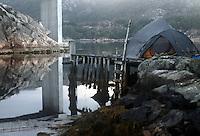 Quiet eavening in Brandangersundet - stille kveld i Brandangersundet, vestlandet